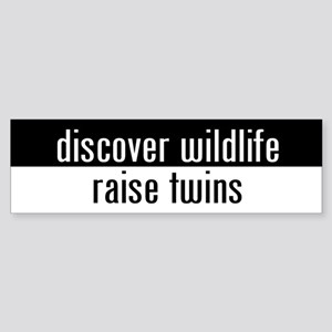 """raise twins"" Bumper Sticker"